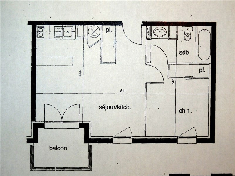 Vente appartement Montauban 77000€ - Photo 2