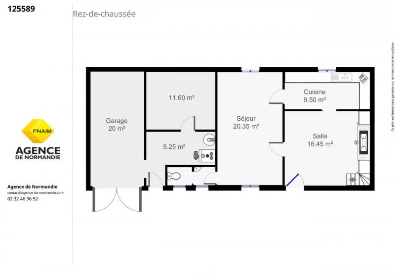 Vente maison / villa Montreuil-l'argillé 110000€ - Photo 6