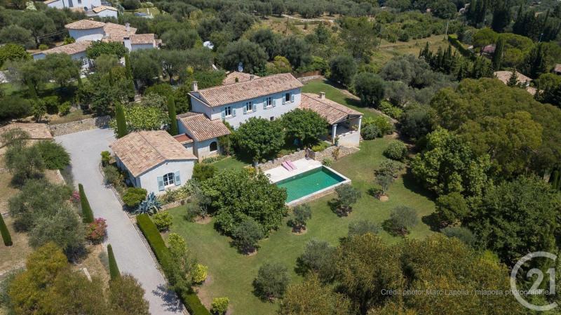 Verkauf von luxusobjekt haus Valbonne 2100000€ - Fotografie 1