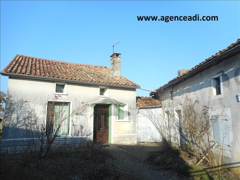 Vente maison / villa Rouille 49 500€ - Photo 1