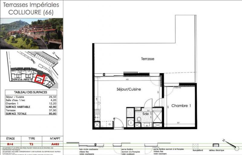 Vente appartement Collioure 333100€ - Photo 3