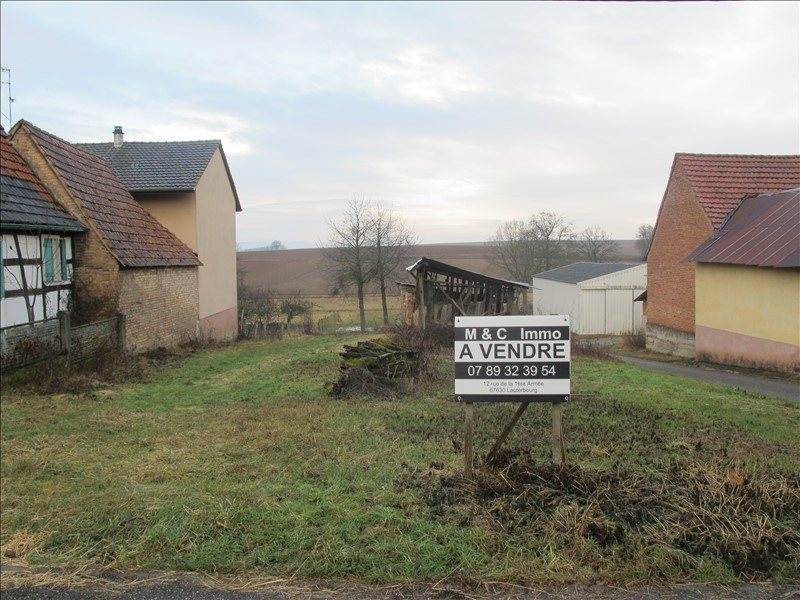 Vente terrain Wissembourg 49 000€ - Photo 1