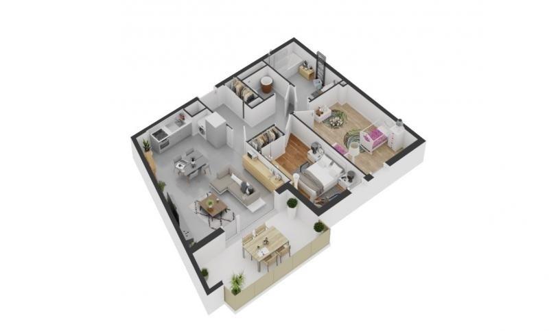 Deluxe sale apartment Balaruc les bains 233900€ - Picture 3