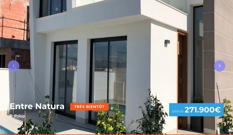 Sale house / villa Province d'alicante 271 900€ - Picture 1