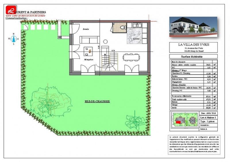 Vente maison / villa Noisy le grand 350000€ - Photo 9