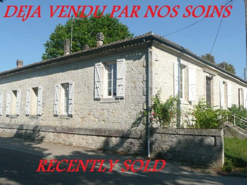 Vente maison / villa Miradoux 253000€ - Photo 1