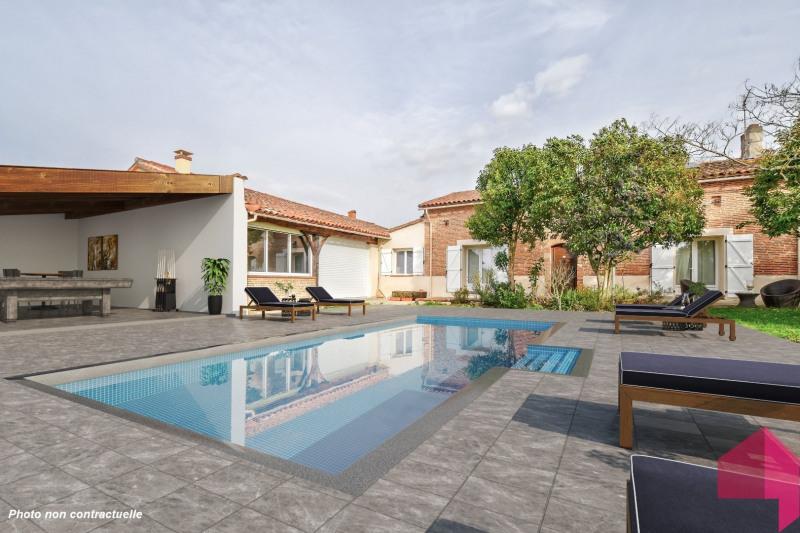 Deluxe sale house / villa Montrabe 615000€ - Picture 1