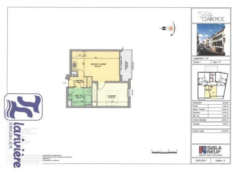 Vente appartement Wimereux 244000€ - Photo 2
