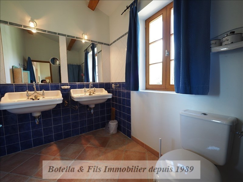 Vente de prestige maison / villa Goudargues 526000€ - Photo 11