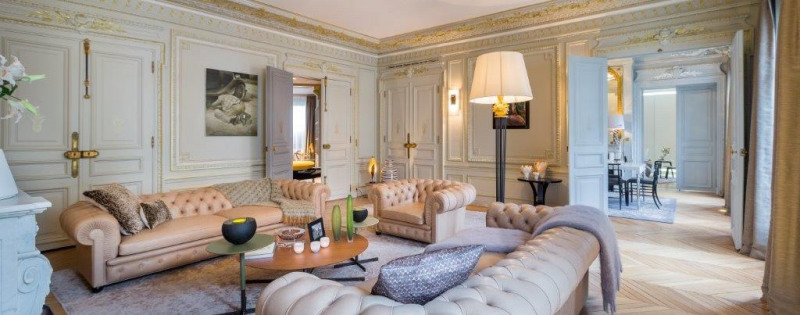Vente de prestige appartement Paris 8ème 6 500 000€ - Photo 2