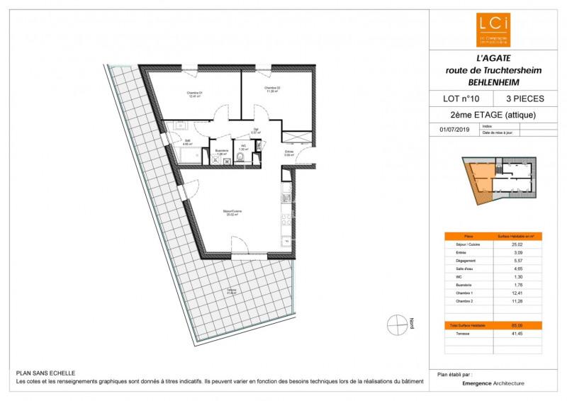 Sale apartment Truchtersheim 248600€ - Picture 2