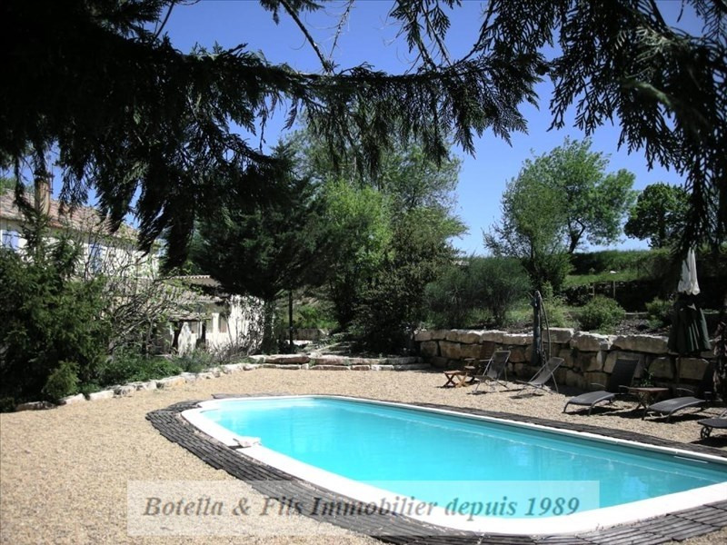 Vente de prestige maison / villa Barjac 526000€ - Photo 12