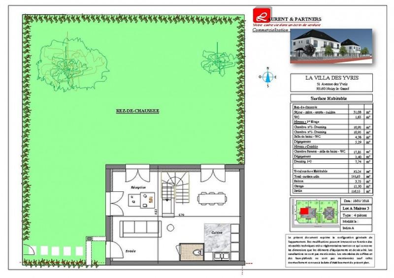 Vente maison / villa Noisy le grand 350000€ - Photo 15