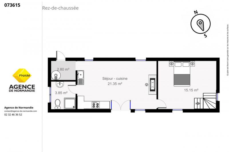 Vente maison / villa Montreuil-l'argillé 73000€ - Photo 3