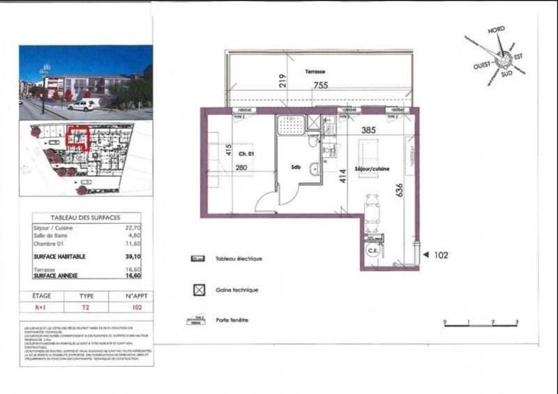 Sale apartment Collioure 231360€ - Picture 2