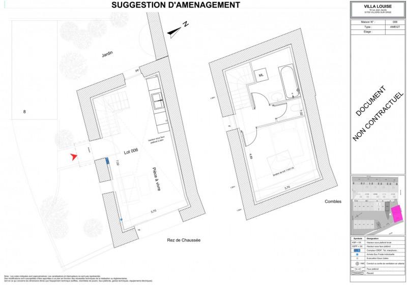 Vente maison / villa Villiers sur orge 129000€ - Photo 4
