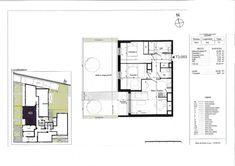 Vente appartement Rennes 286000€ - Photo 3