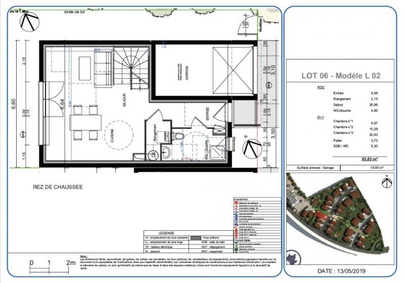 Sale house / villa L isle d'abeau 252200€ - Picture 2