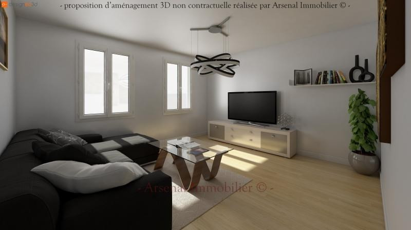 Vente appartement Metz 84 000€ - Photo 3