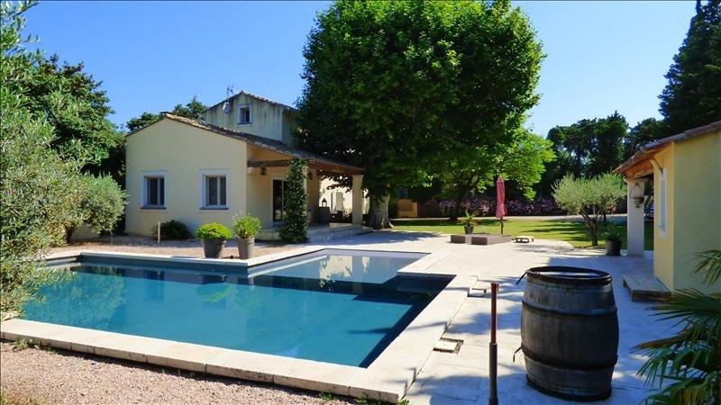 Vente de prestige maison / villa Aubignan 495000€ - Photo 1