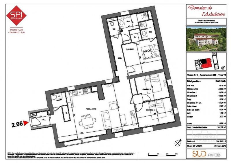 Sale apartment Saint didier au mont d'or 455000€ - Picture 2