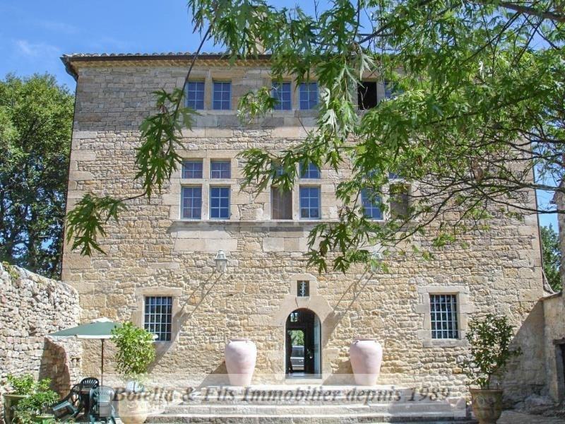 Verkoop van prestige  kasteel Uzes 1985000€ - Foto 15