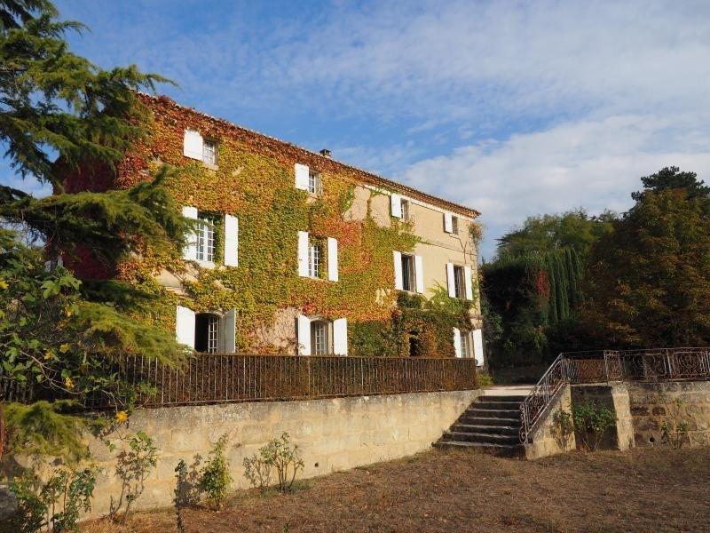 Vente de prestige maison / villa Uzes 649000€ - Photo 1