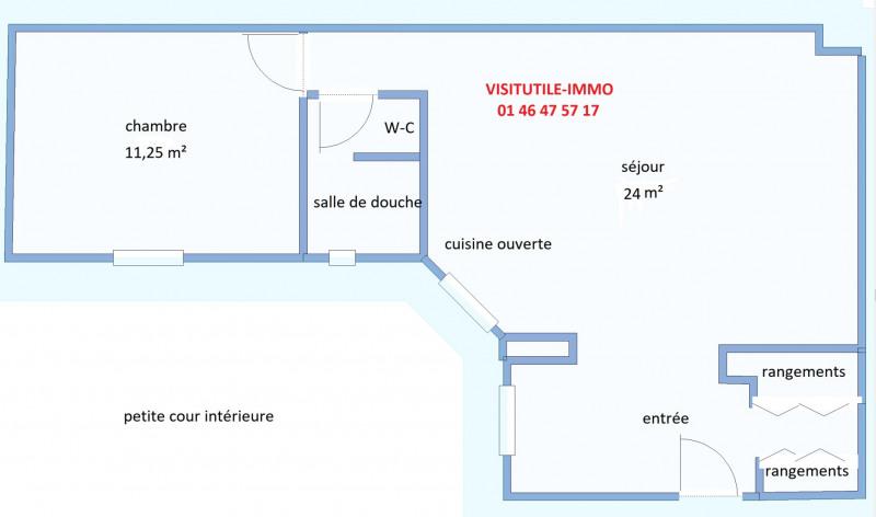 Vendita appartamento Paris 15ème 438000€ - Fotografia 1