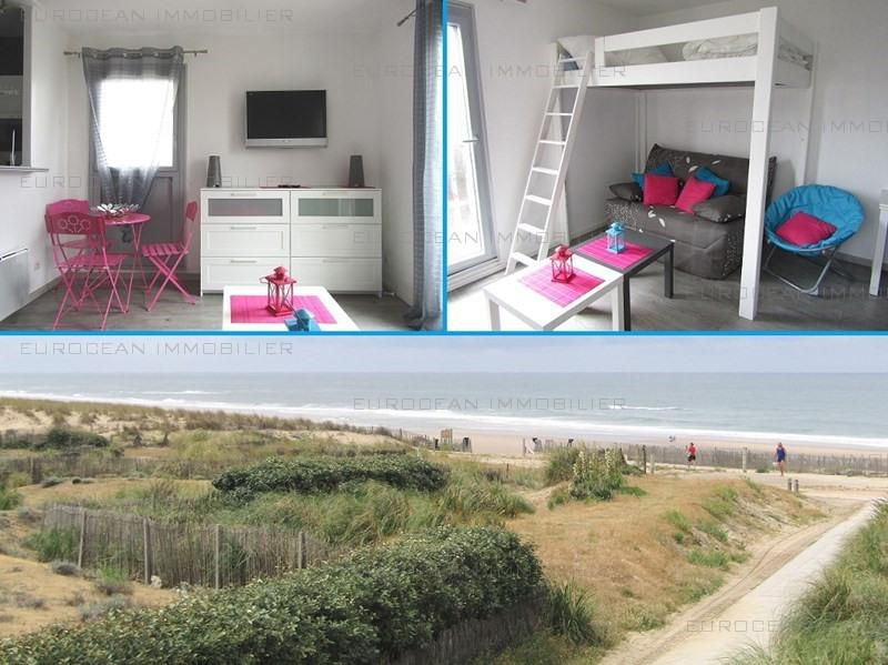 Alquiler vacaciones  apartamento Lacanau ocean 285€ - Fotografía 1