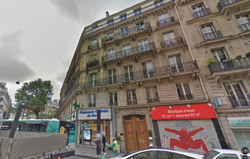 Rental shop Paris 10ème 1820€ HC - Picture 2