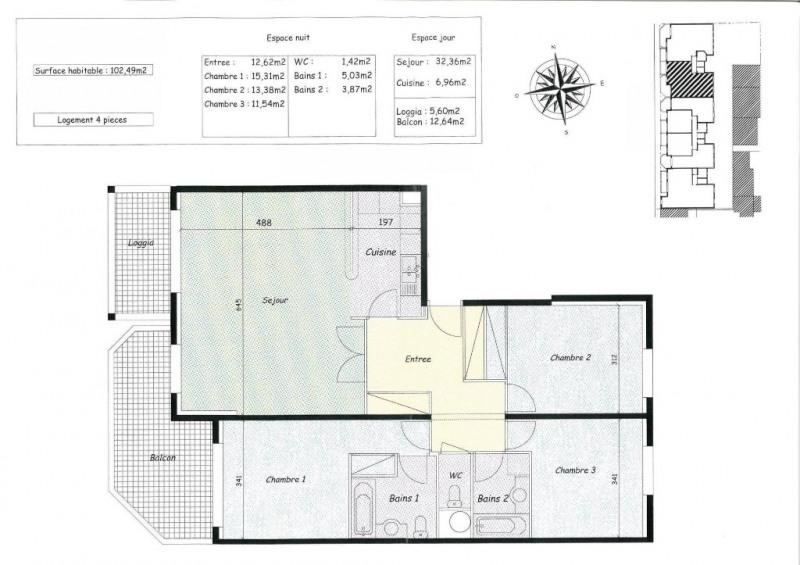 Venta de prestigio  apartamento Le touquet paris plage 998000€ - Fotografía 14