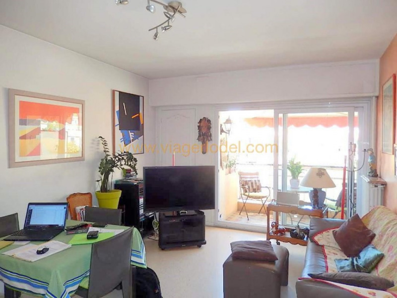 Viager appartement Menton 75 000€ - Photo 1