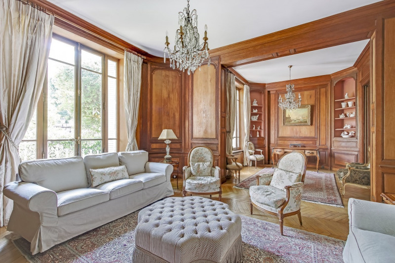 Deluxe sale private mansion Paris 16ème 4 850 000€ - Picture 2