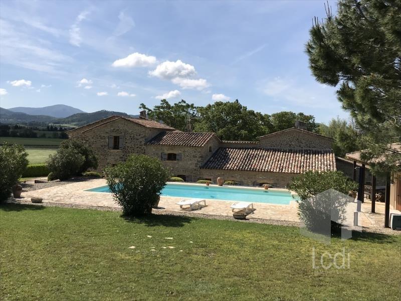 Vente de prestige maison / villa La bégude-de-mazenc 1495000€ - Photo 2