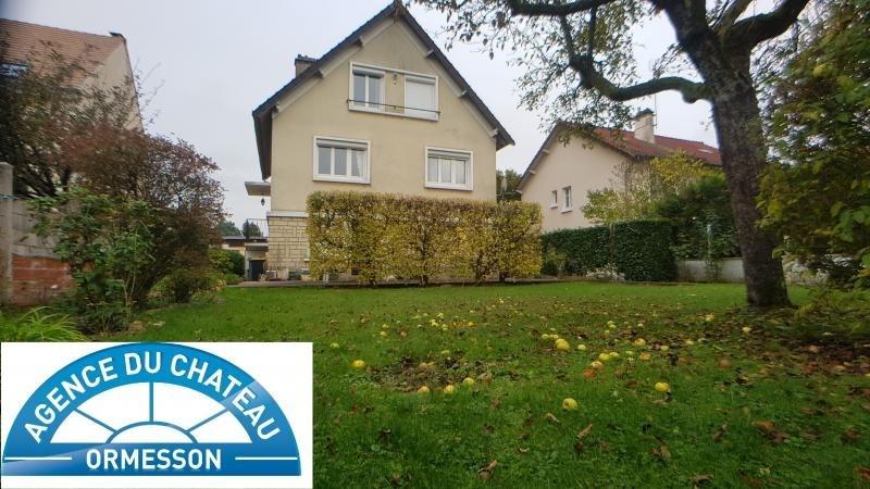 Vente maison / villa Le plessis trevise 429000€ - Photo 1