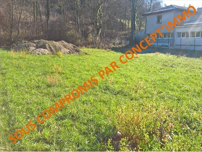 Venta  terreno Ruffieux 82000€ - Fotografía 1