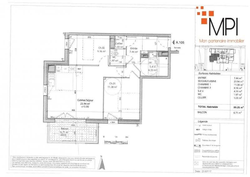 Rental apartment L hermitage 590€ CC - Picture 7