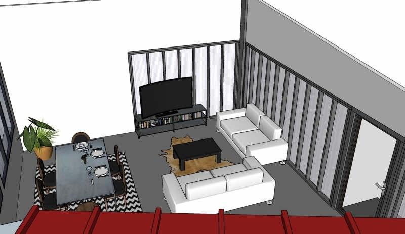 Rental loft/workshop/open plan Isle 600€ CC - Picture 1