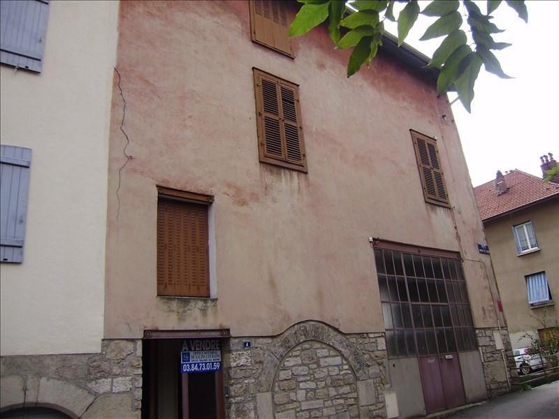 Vente maison / villa Salins les bains 75000€ - Photo 1