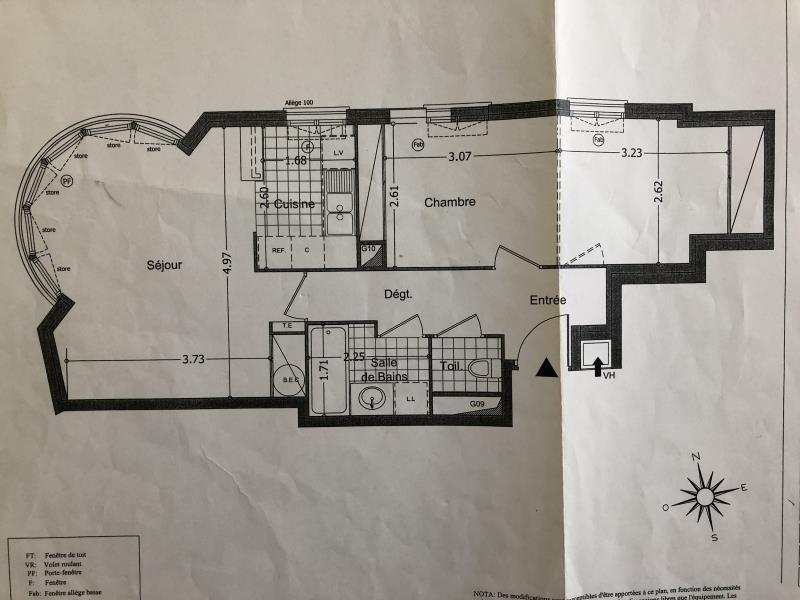 Venta  apartamento Athis mons 190000€ - Fotografía 8