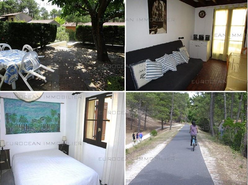 Location vacances maison / villa Lacanau-ocean 538€ - Photo 1