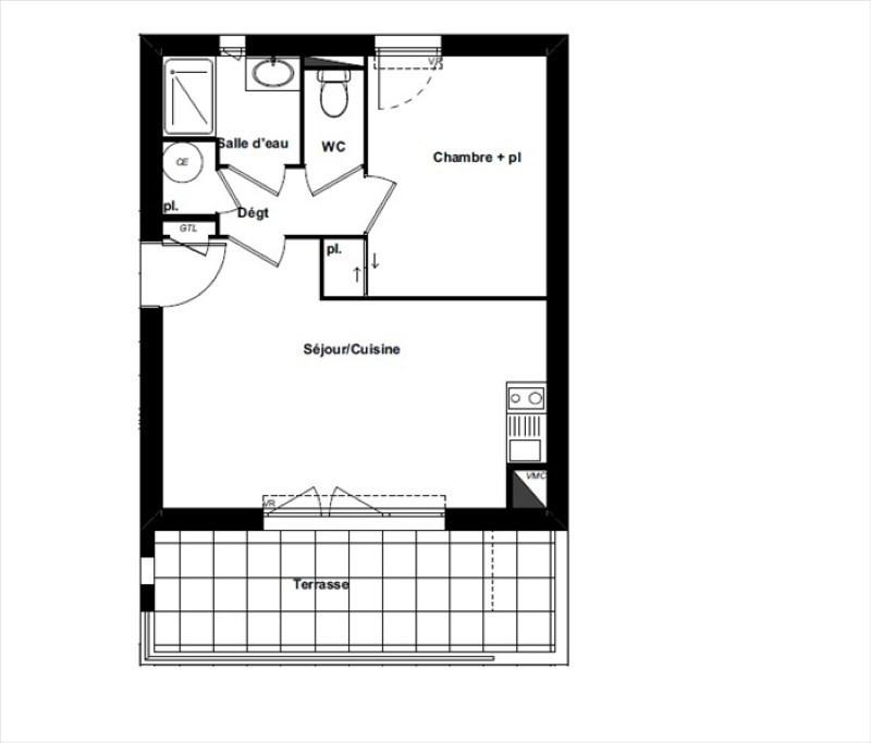 Vente appartement Perpignan 138000€ - Photo 1