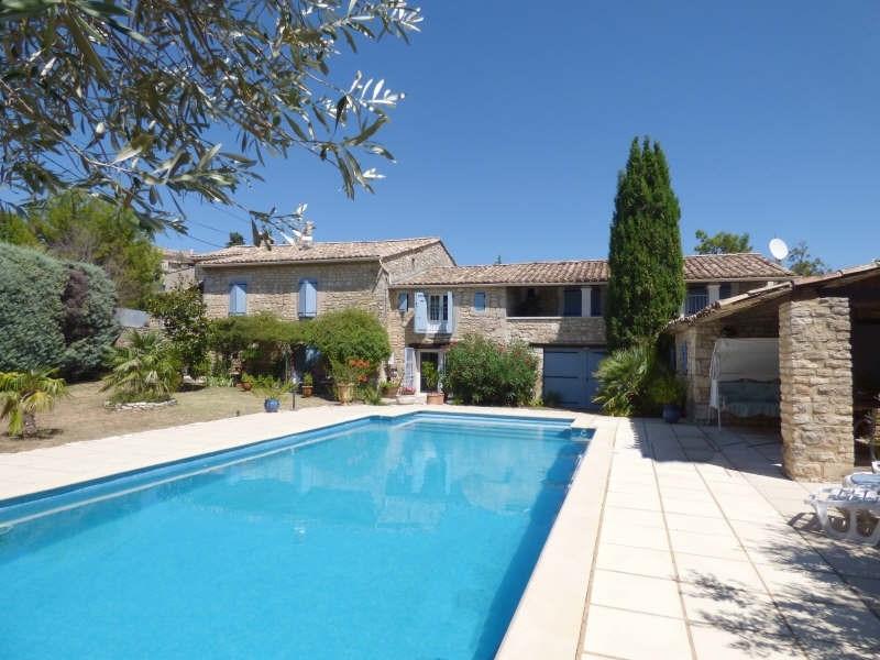 Deluxe sale house / villa Goudargues 579000€ - Picture 1