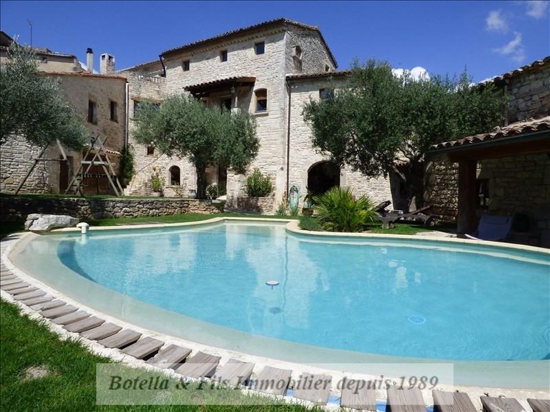Verkauf von luxusobjekt haus Barjac 489500€ - Fotografie 1