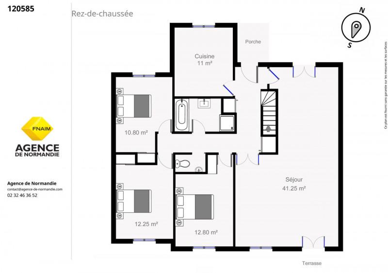 Investment property house / villa Broglie 120000€ - Picture 8