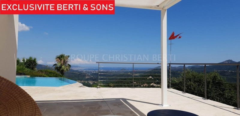 CO-EXCLUSIVITY - MAGNIFICENT SEA VIEW -SUPERB CONTEMPORARY VILLA FULLY RENOVATED