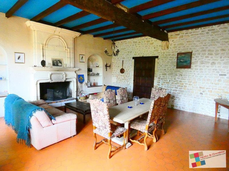 Sale house / villa Salles d'angles 418700€ - Picture 3