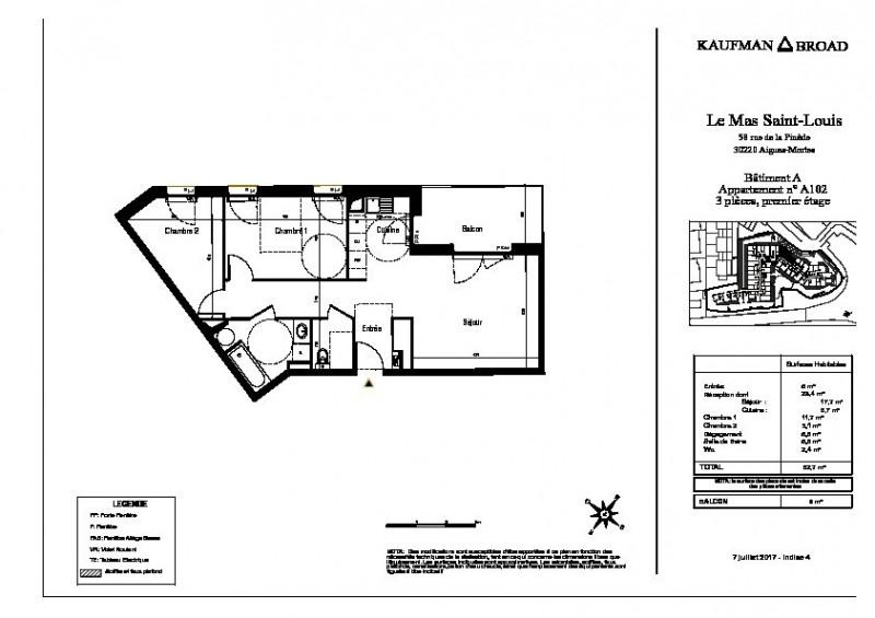 Vente appartement Aigues mortes 241000€ - Photo 3
