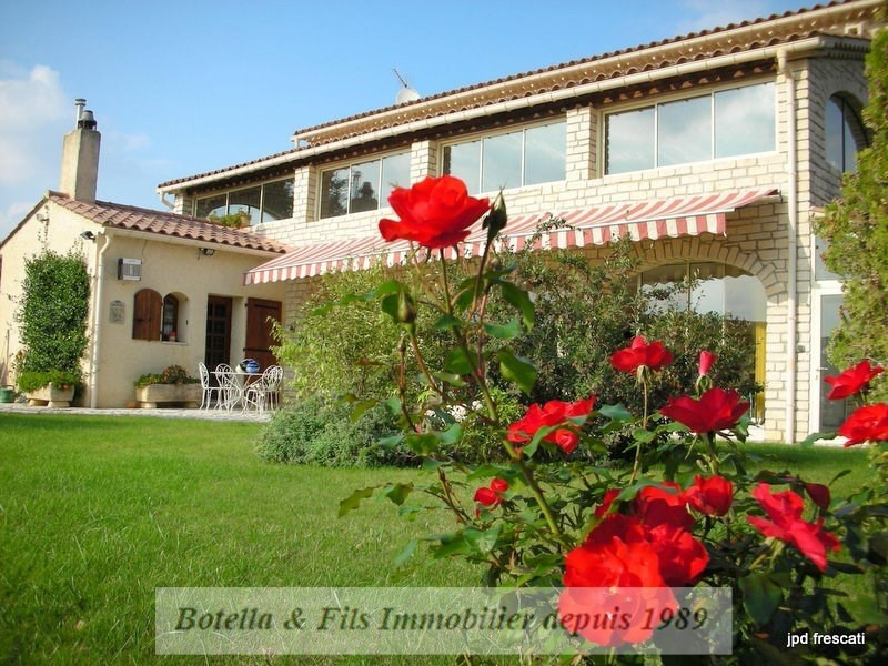 Deluxe sale house / villa Barjac 545 000€ - Picture 1