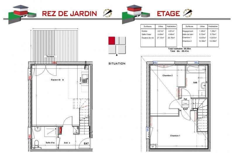 Vente maison / villa Jons 239000€ - Photo 5
